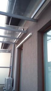 Samsung Premium jednostka zewnętrzna na balkonie